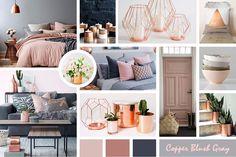 Copper Blush Gray