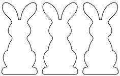 Une guirlande de lapins en papier pour Pâques - Femme Actuelle