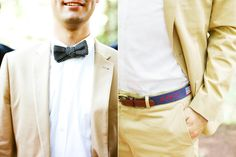 needlepoint belt with wedding date! photographed by katie stoops
