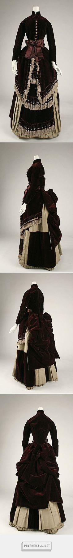 Dress ca. 1880 American   The Metropolitan Museum of Art