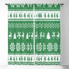Ugly Christmas Sweater Blackout Curtain Blackout Windows, Blackout Curtains, Window Curtains, Christmas Store, Christmas Shopping, Ugly Christmas Sweater, Curtain Rods, Throw Pillows, Crafts