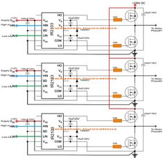 This post explain the genuine method of making an Arduino based three phase inverter circuit with programming code, using special 3 phase driver ICs Electronic Circuit Projects, Electronic Engineering, Arduino Projects, Electrical Engineering, Cnc Projects, Wireless Battery Charger, Automatic Battery Charger, Hobby Electronics, Electronics Projects