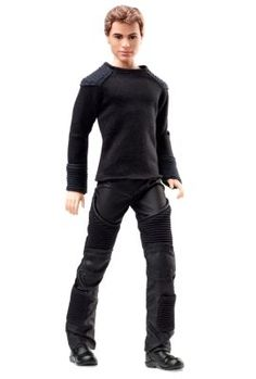 Check out the Barbie Divergent Four Doll at the official Barbie website. Explore all Barbie dolls and accessories now! Barbie Und Ken, Barbie Blog, Barbie Website, Barbie Doll Set, Ken Doll, Mattel Barbie, Divergent Four, Tris And Four, Divergent Trilogy