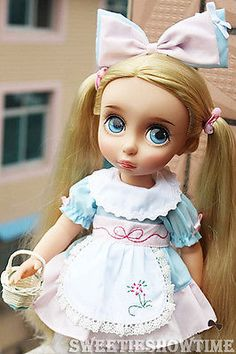 Disney-Baby-doll-clothes-Alice-dress-clothing-Animators-collection-Princess-16