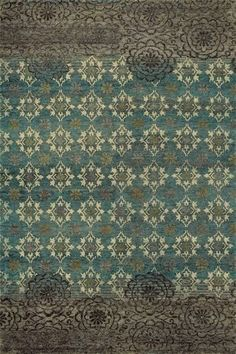 Feizy Qing 6066F Silver Sage - Purchase online at www.HemphillsRugs.com