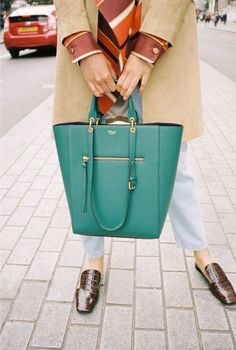 London Street Style With Mulberry | British Vogue