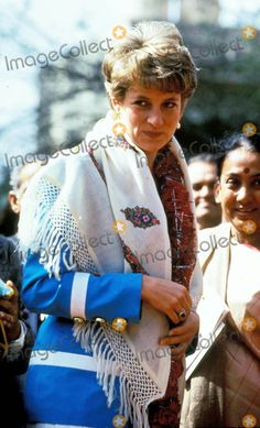 2-12-1992 Tamana School , India Princess Diana Photo by Alpha-Globe Photos Inc