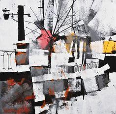 "Igor Nelubovich; Acrylic, Painting ""SPB 211"""