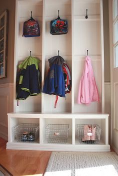 It's the little things that make a house a home...: Hello, Storage...