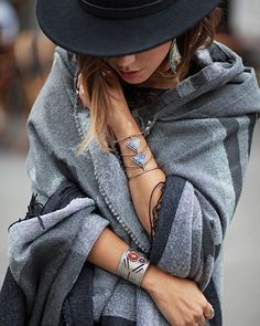 4e4cd78d9f417 Cozy up in your blanket scarf wrap by wearing it over your favorite basics  - don t forget to add fun details like statement jewelry and hats!