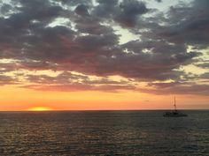 Sunset in Quepos Costa Rica