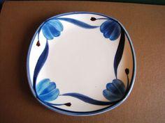 Vintage Gustavsberg Made in SWEDEN BONE CHINA SAS SAUCER blue Very nice