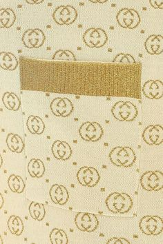 Dress In Jacquard Wool With Beige And Gold Lamé Gg Motif #Paid #Wool, #AFFILIATE, #Beige, #Dress, #Jacquard Casual Dresses For Teens, Gold Lame, Beige, Quilts, Wool, Patch Quilt, Kilts, Log Cabin Quilts, Ash Beige