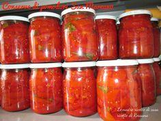 Pomodori in barattolo