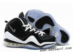 more photos 2b425 ede49 Nike Air Penny 5 Penny Hardaway Shoes Black White Hot Nike Foamposite, Shoes  2015,