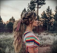 61 Stylish and Cute Crochet Top Pattern Ideas for Summer! Part 12 - 61 Stylish and Cute Crochet Top Pattern Ideas for Summer! Part crochet top pattern; Braided Hairstyles For School, Pretty Hairstyles, Easy Hairstyles, Wedding Hairstyles, Fashion Hairstyles, Summer Hairstyles, Bohemian Hairstyles, Boho Hairstyles For Long Hair, Elegant Hairstyles