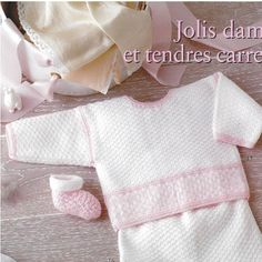 Albums archivés Baby Knitting, Crochet Baby, Knit Crochet, Baby Layette, Pattern Books, Baby Kids, Kids Outfits, Catalog, Children Clothing