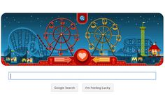 googledodole on valentine day