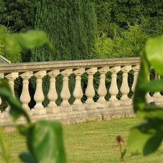 Garden stone balustrade from Acanthus Cast Stone