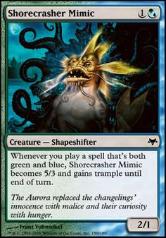 Shorecrasher Mimic ($.19) Price History from major stores - Eventide - MTGPrice.com Values for Ebay, Amazon and hobby stores!