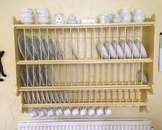 Good size plate rack