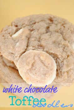 White Chocolate Toffee Doodles