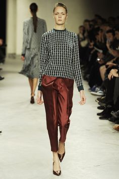 Bruuns Bazaar's AW 2012 collection featured wearable separates of which I want all.