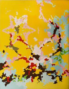 EVA ČINČALOVÁ _ WAY TO HEAVEN I.  2005  165X130 CM  OLEJ   OIL ON CANVAS