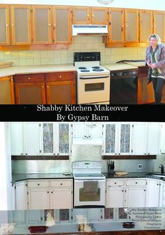 Shabby Chic Kitchen Makeover