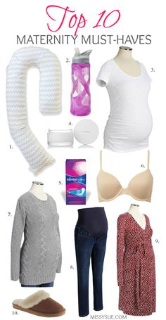 Top 10 Maternity Must Haves