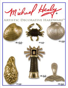 Michael Healy Unique Door Knockers are unmatched in their quality and craftsmanship. Handcrafted in solid brass, bronze or nickel silver, they add instant curb appeal to any home. With over 100 designs, Michael has the perfect unique art form for your front door.