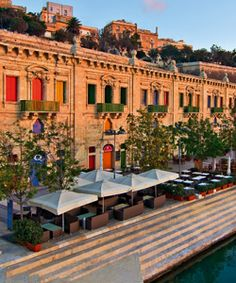 The Valletta Waterfront | Air Malta