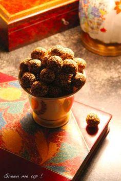 truffes sésame bergamote
