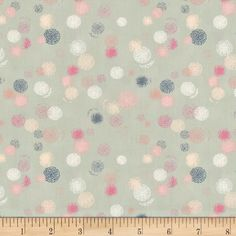 Art Gallery Ethereal Fusion Aerosol Stipple Ethereal from @fabricdotcom  Designed by Sew Caroline for Art Gallery, this cotton print fabric features spray paint polka dots that give the appearance of almost looking at them through glass. Perfect for quilting, apparel and home decor accents. Colors include white, cream, blue, seafoam green and shades of pink.