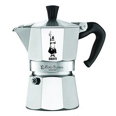 Shop Bialetti - Moka Express Espresso Maker 2 Cup at Peter's of Kensington. View our range of Bialetti online. Why in the world would you shop anywhere else for Bialetti? Espresso Machine Reviews, Best Espresso Machine, Espresso Maker, Espresso Cups, Espresso Coffee, Coffee Maker, Coffee Latte, Espresso Kitchen, Iced Coffee