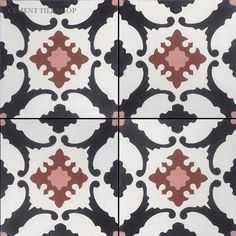 Cement Tile Shop - Handmade Cement Tile | Alamo Black