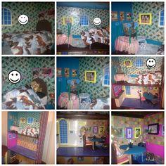 bedroom & kitchen