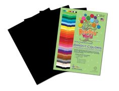 Follow us to http://freecycleusa.com Roselle Bright 9 x 12 Inches Colors Suphite Construction Paper, 50 Sheets Per Package, Black (70601)