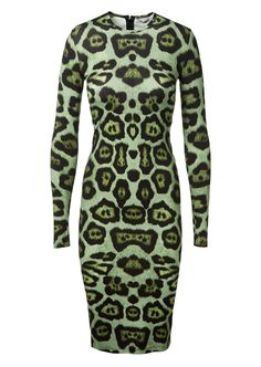 GIVENCHY Givenchy Animal Printed Stretch Dress. #givenchy #cloth #