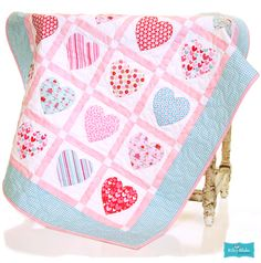 Sweet Cakes by Doodlebug Design Inc. for Riley Blake Designs.  Oh how fun to make a Valentine quilt.