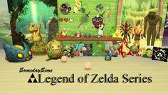 My Sims 4 Blog: Legend Of Zelda Set by SomedaySims