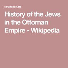 History of the Jews in the Ottoman Empire - Wikipedia