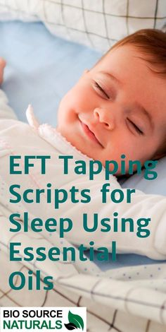 EFT Tapping Scripts for Sleep Using Essential Oils