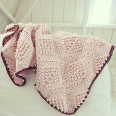 ByHaafner * crochet : Pattern * popcorn blanket
