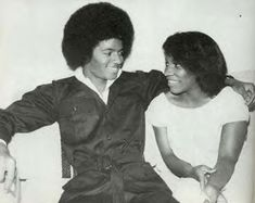 Stephanie Mills and MJ. The voices.