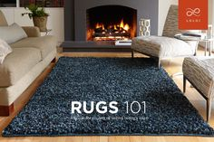 RUGS 101. Tips on choosing rug size, material and maintenance from Loloi.