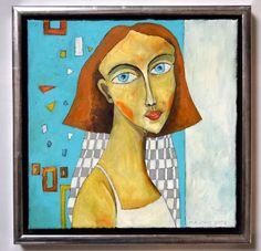 Nathalie - oil on canvas - Miroslaw Hajnos