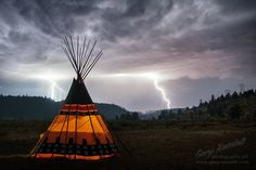 Eye of The Tempest - Warm Springs Indian Reservation, Central Oregon.   copyright - gary randall
