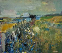 Your Paintings - Joan Kathleen Harding Eardley paintings july fields Abstract Landscape Painting, Landscape Art, Landscape Paintings, Abstract Art, Abstract Portrait, Contemporary Landscape, Landscape Prints, Pencil Portrait, Acrylic Paintings