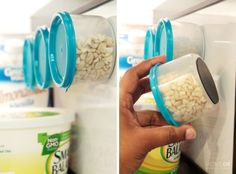 How to Make Custom DIY Magnetic Tins  To go inside the refrigerator. Now that is clever.